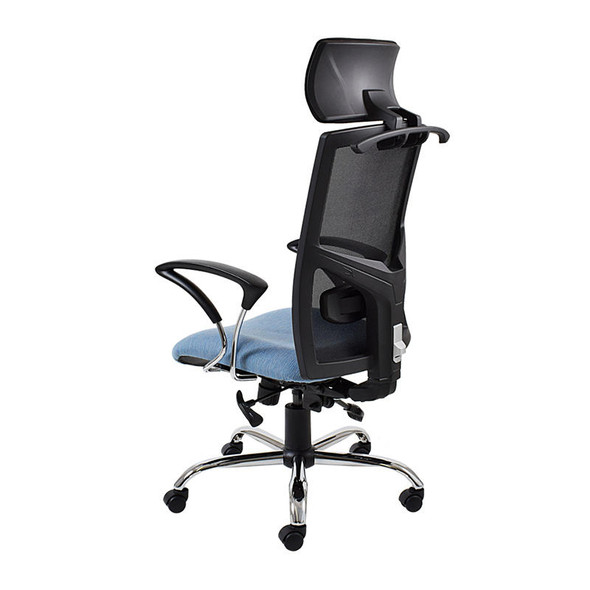 WC6 Winston Netted High-back Chair with Headrest
