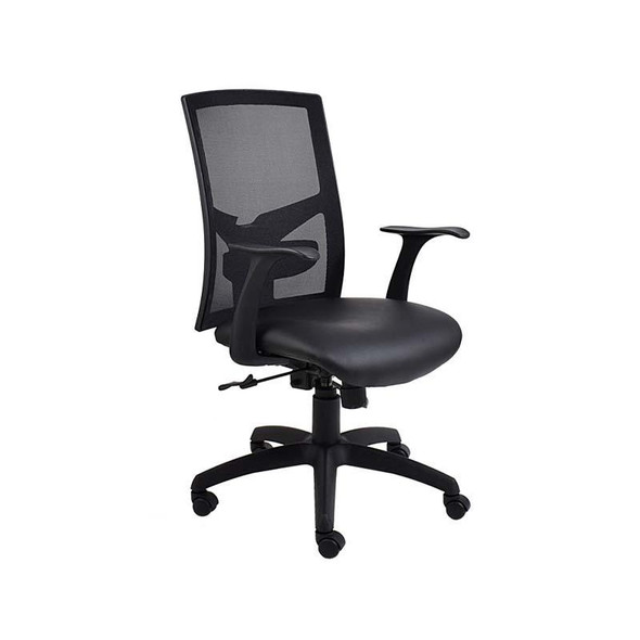 WC5-Winston Netted Medium-back Synchronous Chair