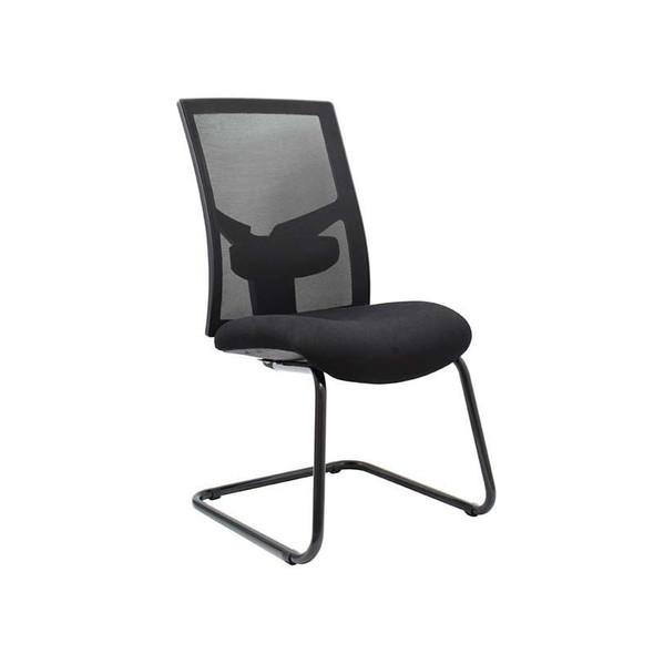 WC2-Winston Netted Medium- Side Back Chair With Sleigh Back