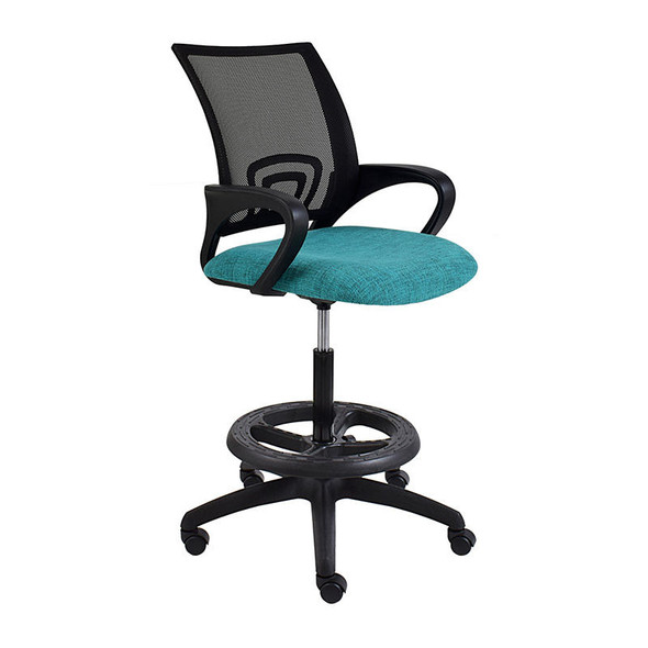 Britney Netted Draughtsman Office Chair