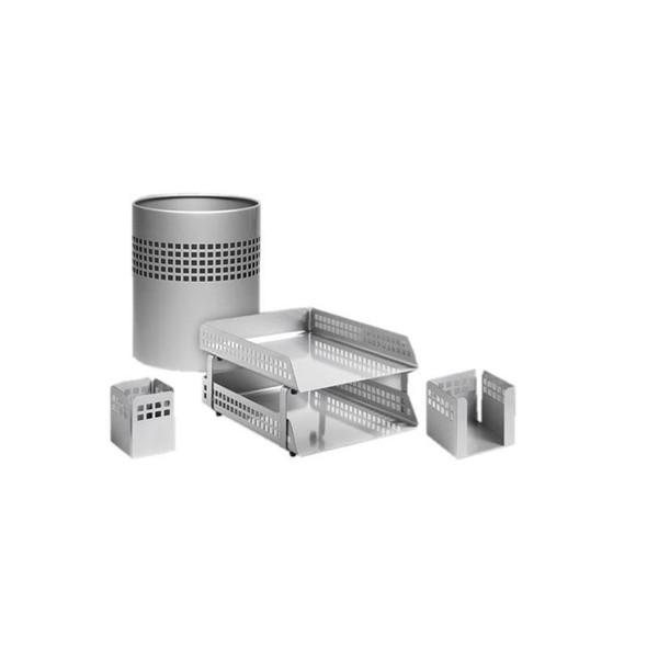 Square Punch Desk Set