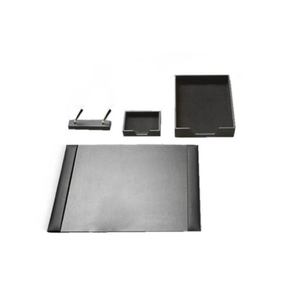 Executive Leather Desk Set