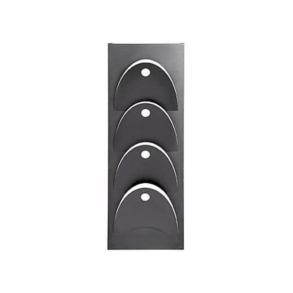News Paper Steel Wall Mounted D- Line Holder