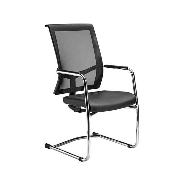 Equinox Mesh Sleigh Base Visitors Chair