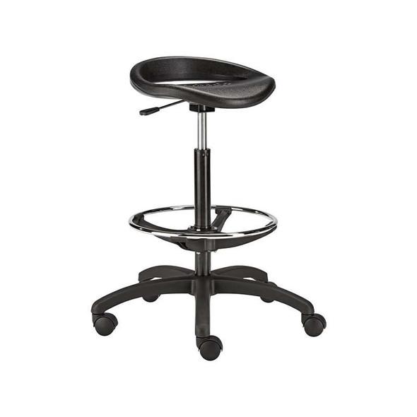 Round PU Typist Chair