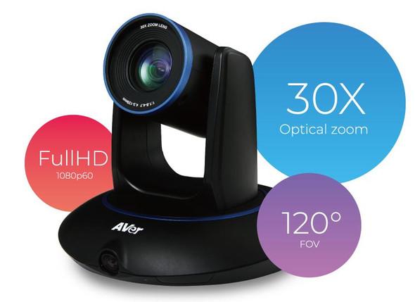 Aver PTC5000S Auto Tracking PTZ Camera