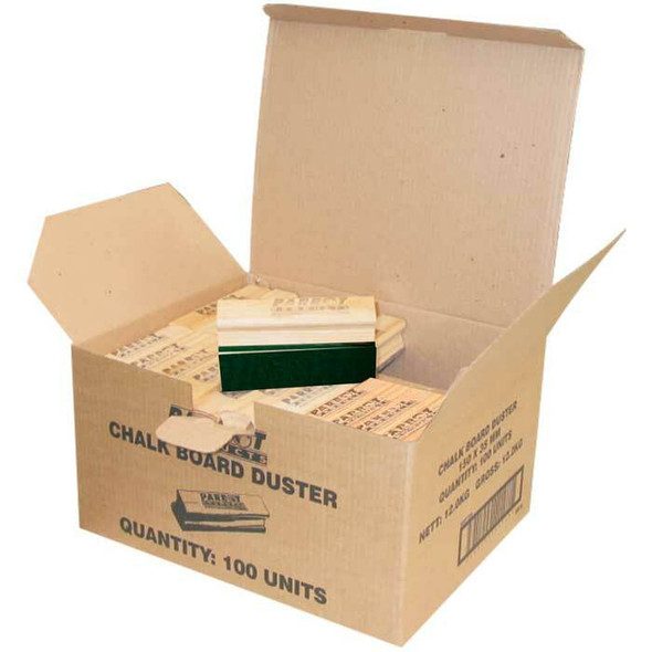 Chalk Board Dusters 15035mm - Boxed 100 - Green