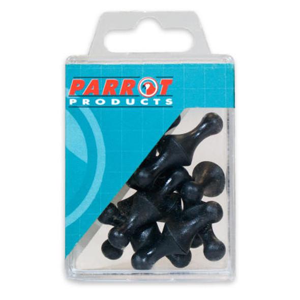 Magnet Map Pins 25 Box - Size16mm - Black