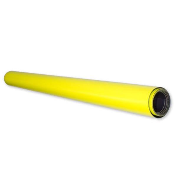 Magnetic Flexible Sheet 1000610mm - Yellow