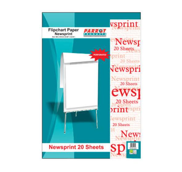 Flipchart Newsprint Paper 50 Sheets - 860610mm