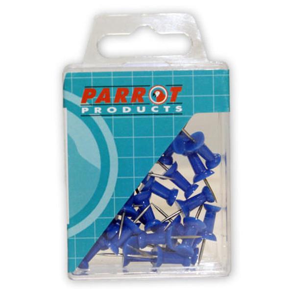 Push Pins Boxed 30 - Blue