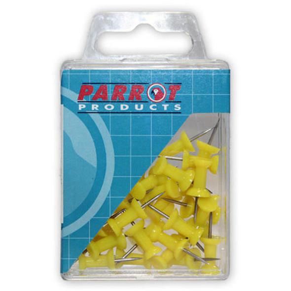 Push Pins Boxed 30 - Yellow