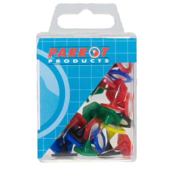 Hexagonal Pins Boxed 30 - Assorted