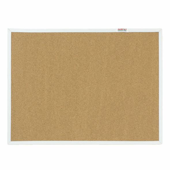 Info Board Plastic Frame - 600450mm - Cork