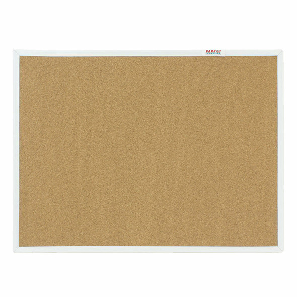 Info Board Plastic Frame - 900600mm - Cork