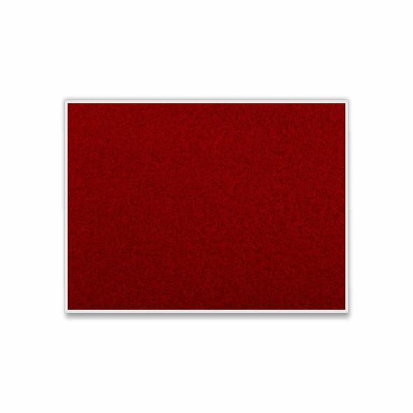 Info Board Plastic Frame - 1200900mm - Burgandy