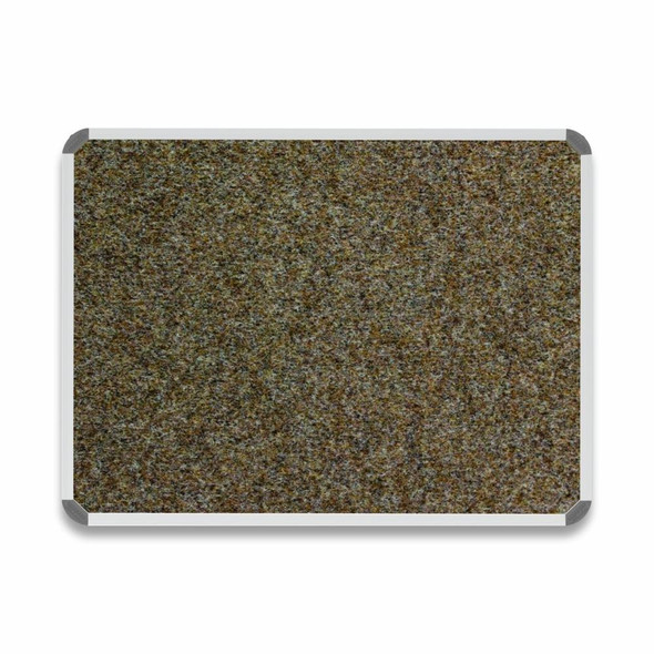 Bulletin Board Aluminium Frame - 1200900mm - Spice