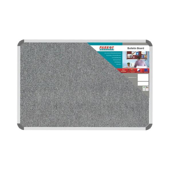 Bulletin Board Ribbed Aluminium Frame 900x600mm - Laurel