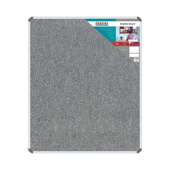 Bulletin Board Ribbed Aluminium Frame 1200x1000mm - Laurel