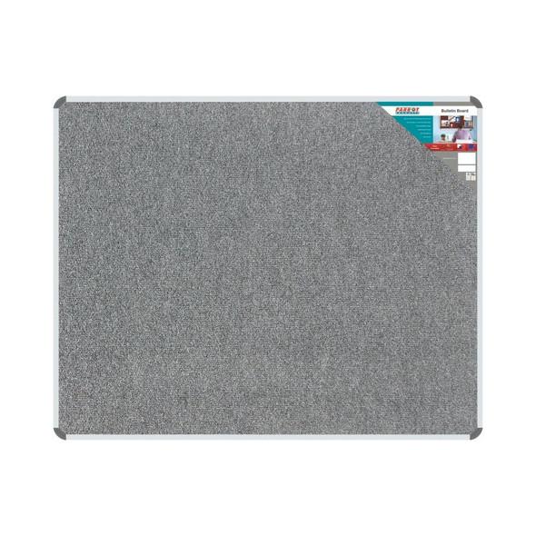 Bulletin Board Ribbed Aluminium Frame 1500x1200mm - Laurel
