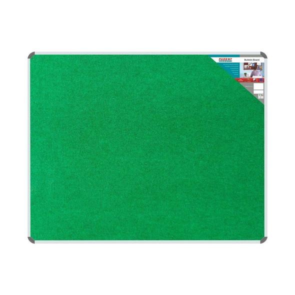 Bulletin Board Ribbed Aluminium Frame 1500x1200mm - Palm