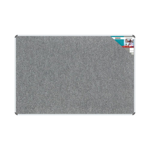 Bulletin Board Ribbed Aluminium Frame 1800x1200mm - Laurel