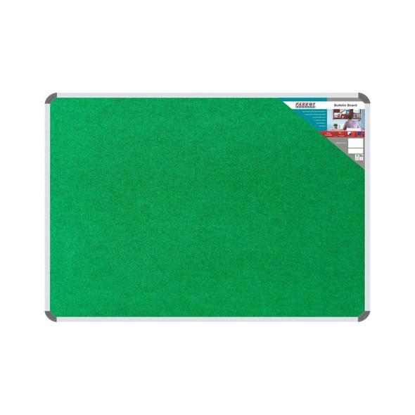 Bulletin Board Ribbed Aluminium Frame 1800x1200mm - Palm