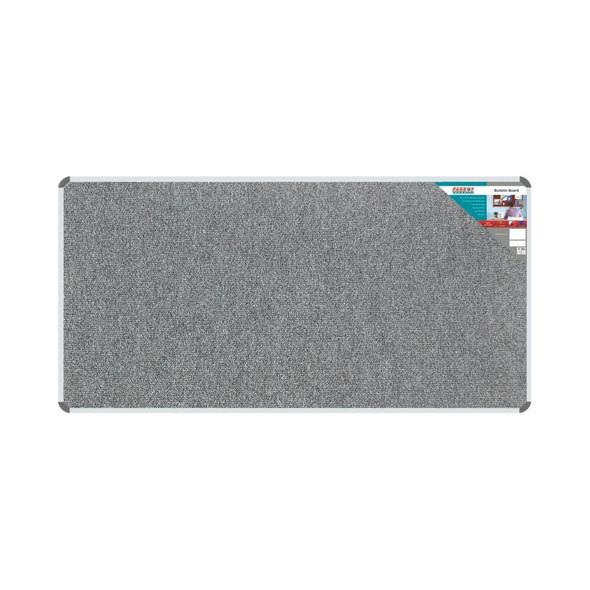 Bulletin Board Ribbed Aluminium Frame 1800x900mm - Laurel