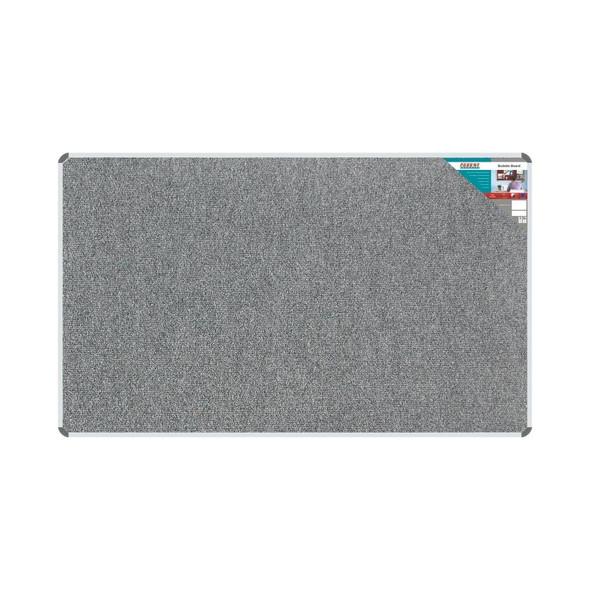 Bulletin Board Ribbed Aluminium Frame 2000x1200mm - Laurel