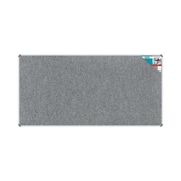 Bulletin Board Ribbed Aluminium Frame 2400x1200mm - Laurel