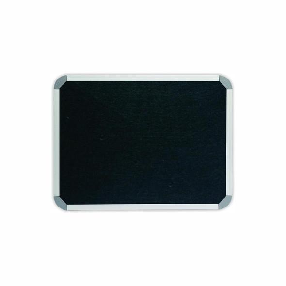 Info Board Aluminium Frame - 600450mm - Black
