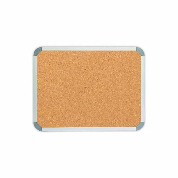 Info Board Aluminium Frame - 600450mm - Cork