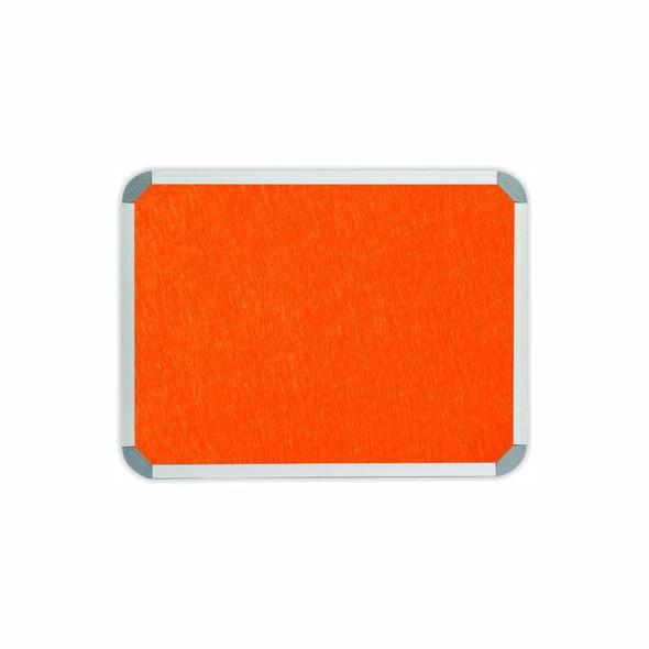 Info Board Aluminium Frame - 600450mm - Burnt Orange