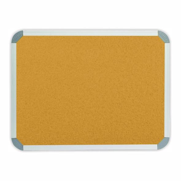 Info Board Aluminium Frame - 900600mm - Beige