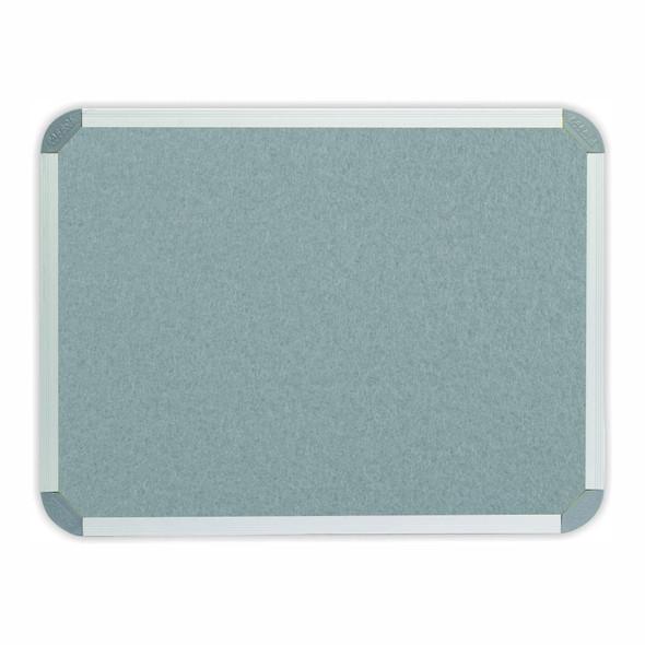 Info Board Aluminium Frame - 900600mm - Grey
