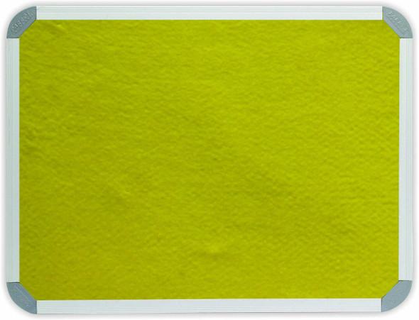 Info Board Aluminium Frame - 10001000mm - Yellow