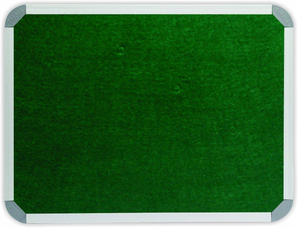 Info Board Aluminium Frame - 12001200mm - Green