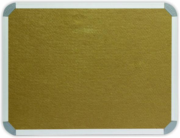 Info Board Aluminium Frame - 15001200mm - Beige