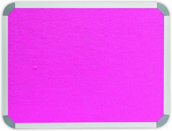 Info Board Aluminium Frame - 1500900mm - Pink