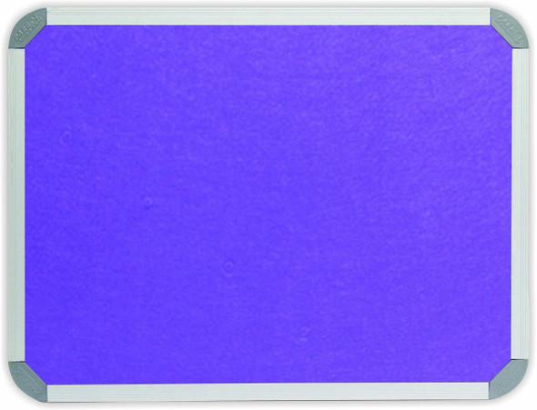 Info Board Aluminium Frame - 18001200mm - Purple