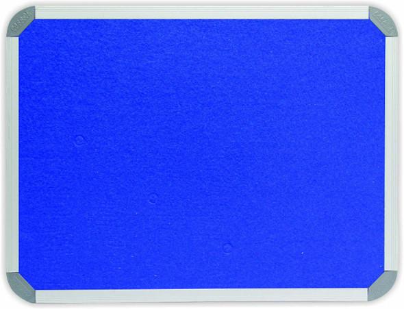 Info Board Aluminium Frame - 18001200mm - Royal Blue
