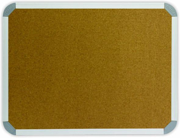 Info Board Aluminium Frame - 1800900mm - Cork