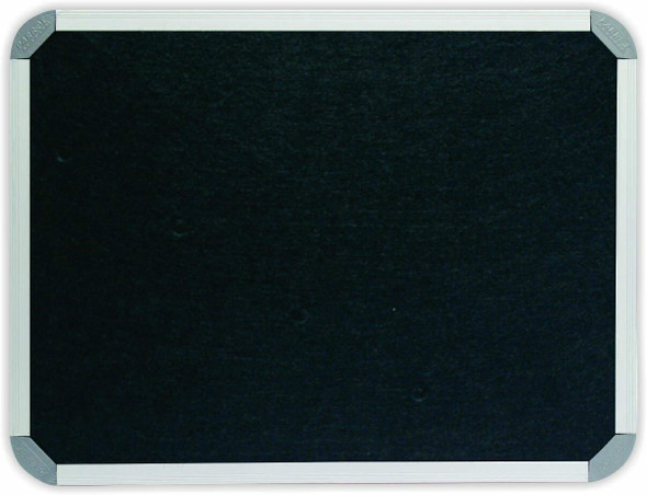 Info Board Aluminium Frame - 20001200mm - Black