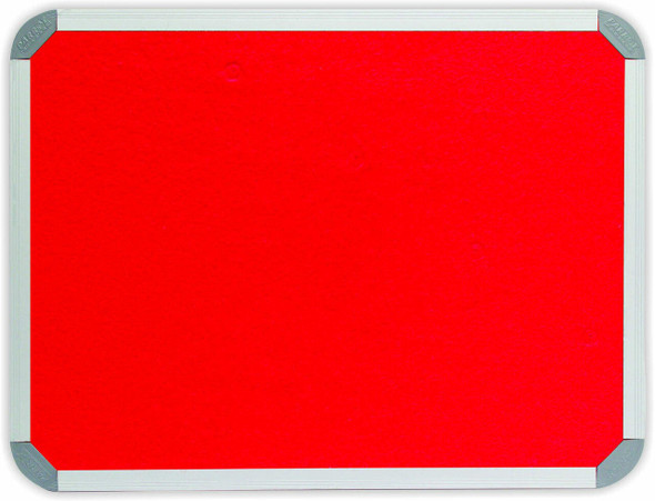 Info Board Aluminium Frame - 200012000mm - Red