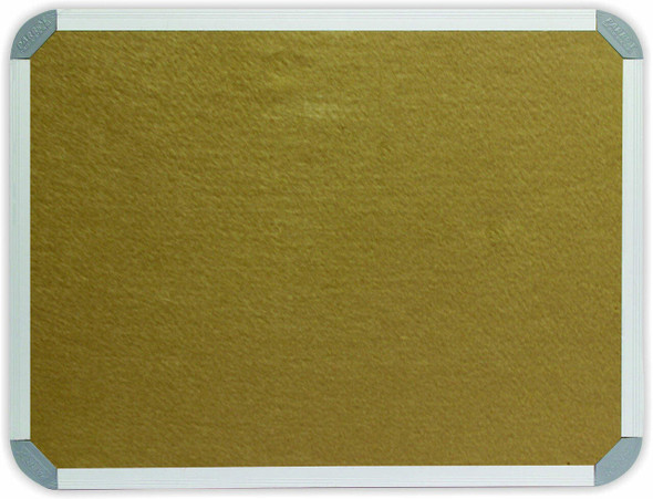 Info Board Aluminium Frame - 240012000mm - Beige