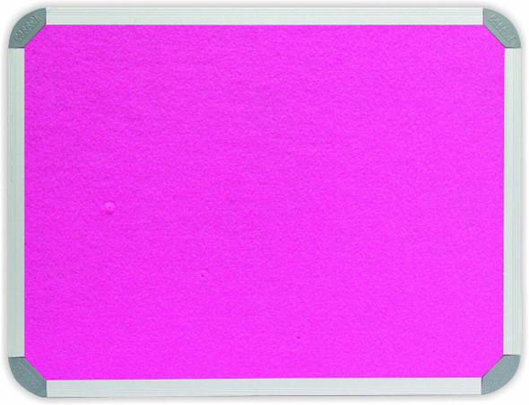 Info Board Aluminium Frame - 240012000mm - Pink
