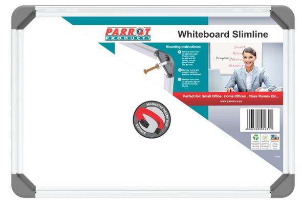 Slimline Magnetic Whiteboard 300450mm - Non-Retail