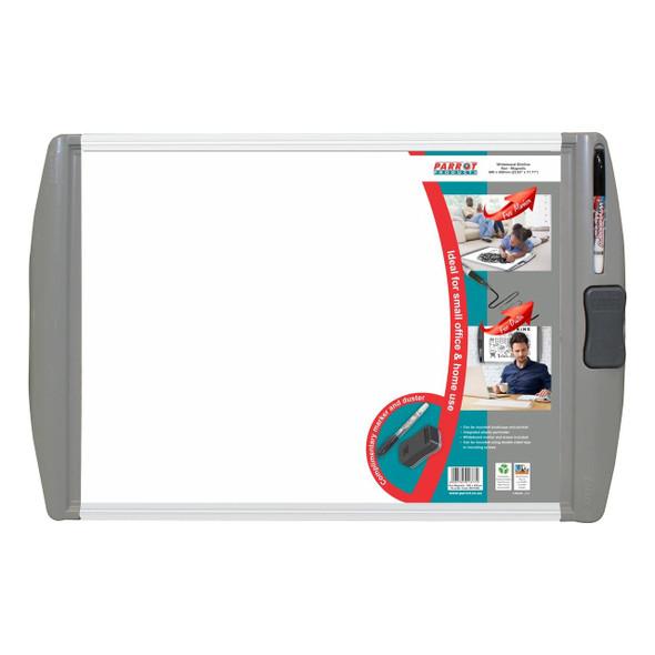Slimline Non-Magnetic Whiteboard 600450mm - Retail
