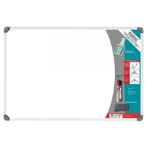 Slimline Non-Magnetic Whiteboard 900600mm - Retail
