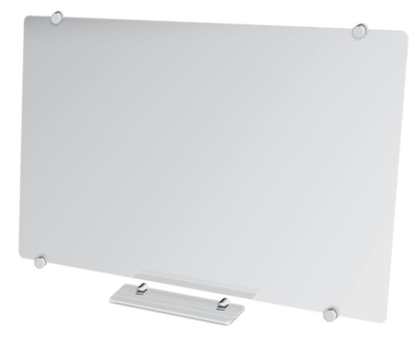 Magnetic Glass Whiteboard 900900mm